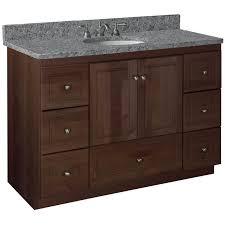 Recycled Bathroom Vanities by Bathroom Top Strasser Woodenworks Simplicity 48 Vanity Base