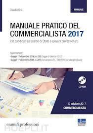 maggioli editore sede manuale pratico commercialista 2017 claudio orsi