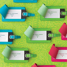 luggage tag favors luggage tags wedding favors