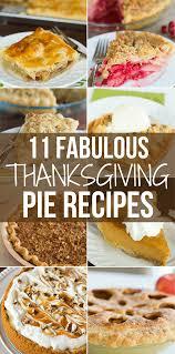 11 fabulous thanksgiving pie recipes
