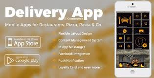 my android apps delivery service ios android app with e commerce module by