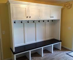 Coat Storage Ideas Wooden Mudroom Bench With Storage Ideas