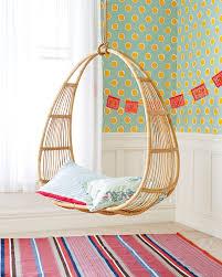 bedroom hanging wicker chair basket rattan material pictures