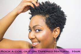 how to do finger coils on natural hair and rock a coil out with a