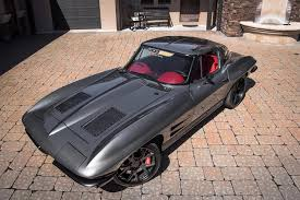 corvette restomods for sale corvettes on ebay the punisher 1963 corvette is a sinister