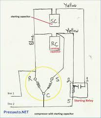refrigerator compressor relay wiring diagram refrigerator wiring