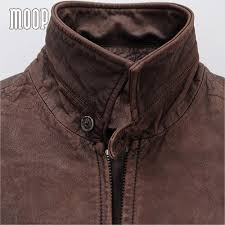real leather motorcycle jackets aliexpress com buy retro style coffee genuine leather coat men