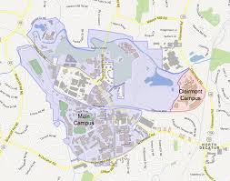 American University Campus Map Emory Interactive Campus Map