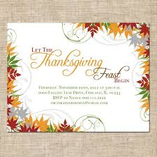 thanksgiving invitation cards paperinvite