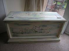 shabby chic blanket box 12 50 via etsy bench in the dance