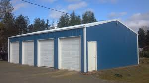 How To Build A Pole Barn Shed Roof by Overhang Options For Pole Buildings Portland Oregon Locke Buildings
