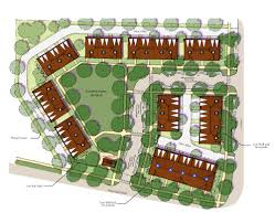 site plan design designing a missing middle plan for small infill the of