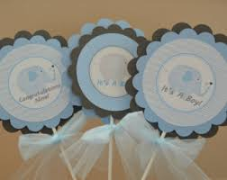 elephant centerpieces for baby shower elephant centerpiece etsy