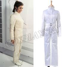 wars jumpsuit wars princess leia organa white jumpsuit costume