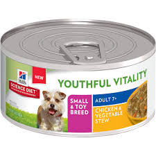 hill u0027s science diet youthful vitality 7 small u0026 toy breed