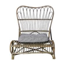couette en bambou chaise lounge en bambou house doctor petite lily interiors