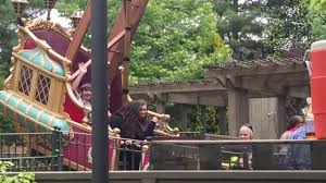 pirate ship ride at silver dollar city youtube