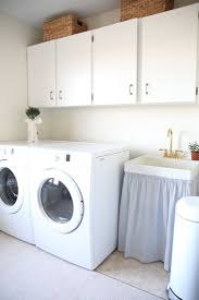 Diy Laundry Room Decor by The 25 Best Sink Skirt Ideas On Pinterest Bathroom Sink Skirt