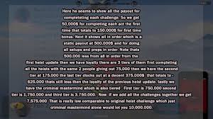 Challenge Explained Gta Doomsday Heist Payouts And Challenges Explained