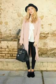 light pink blazer forever 21 light pink forever 21 jackets black esarsi shoes black h m hats