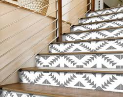 stair riser decals etsy
