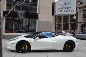 golden ferrari 458 2012 ferrari 458 italia stock 83122 for sale near chicago il