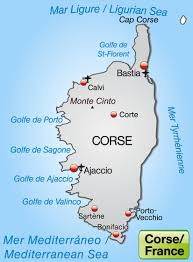 Corsica Map Corsica In France A Trip With Charm