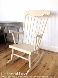 Wooden Rocking Chair Dimensions Annie Sloan Old Ochre Rocking Chair Www Facebook Com