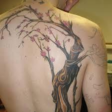collection of 25 best tree on back shoulder
