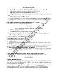 physics viva questions p u2013n junction capacitor