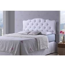 Leather Tufted Headboard White Bed Headboard Interiors Design