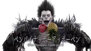 death note ppap pen pineapple apple pen ryuk version death note youtube