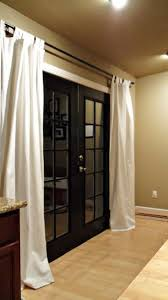 Curtains For Interior French Doors Best 25 Black French Doors Ideas On Pinterest Black Window