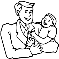i love dad may father is the best coloring pages coloring sky
