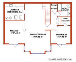 Finished Walkout Basement Floor Plans Beautiful House Plans With Basement Small Walk Out Basement