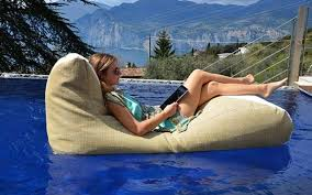 floating bean bag loungers floating chair