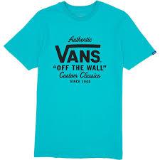vans t shirts ccs com vans holder street custom t shirt teal