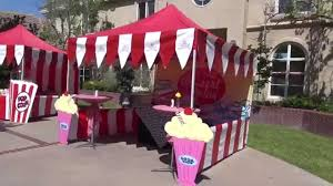 Fifties Home Decor Fabulous 50 U0027s Carnival Theme Party In Los Angeles Youtube