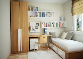 Bookshelves Small Spaces by Bedroom Decorating Ideas For Small Spaces Bedroom Wall