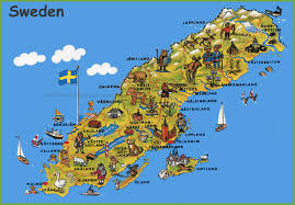 Maps Update 21051488 Washington State by Maps Update 18401281 Tourist Attractions Map In Sweden U2013 Sweden