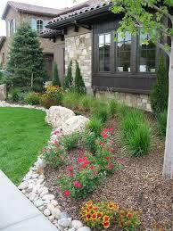 rustic landscapping new homes denver metro evergreen colorado