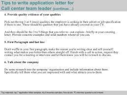 lovely cover letter for team leader position examples 81 for free