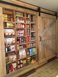 Kitchen Pantry Doors Ideas Between The Studs Pantry With Barn Door Pantry Pinterest