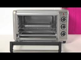 Toaster Oven Black Decker Black Decker 6 Slice Counter Top Toaster Oven Youtube