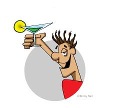 cartoon martini cartoon binoy nair