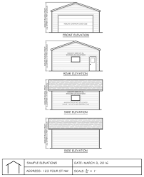 Floor Plan Of A House With Dimensions The City Of Calgary Garage Shed Greenhouse Carport