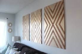 oversized diy wall made from plywood the home depot