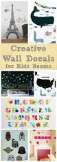 Kids Room Decals by 25 Creative Wall Decals For Kids Rooms Sometimes Homemade