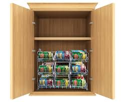 amazon com stackable can rack organizer storage for 36 cans