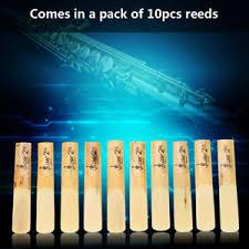 lade wood lade 10pcs b flat 2 5 saxophone wood reeds for saxophone
